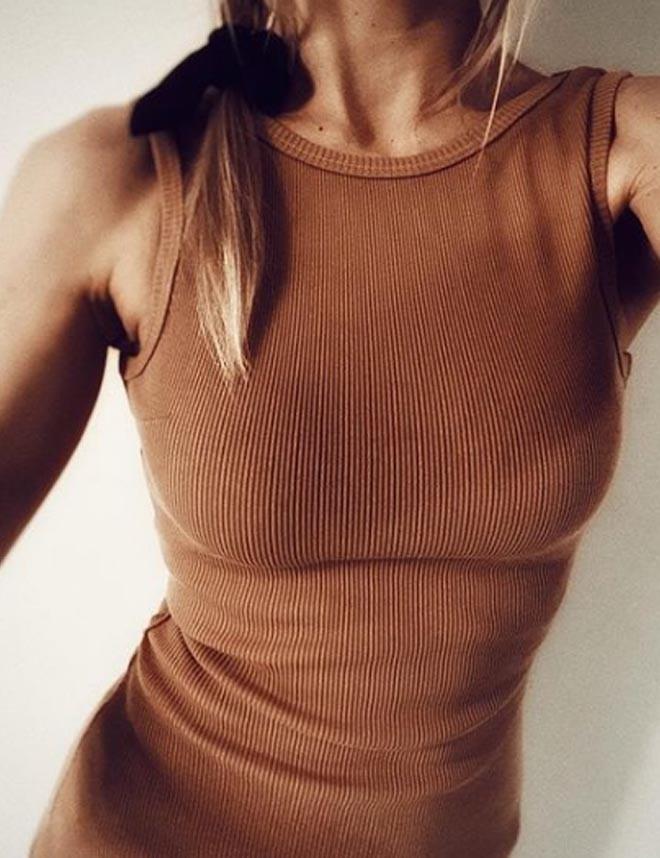 T-shirt (TM3) koszulka oversize  męska z dużym dekoltem