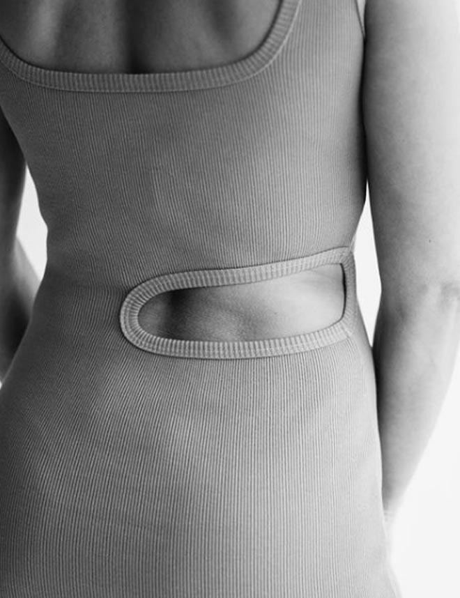 T-shirt (T-02) szara
