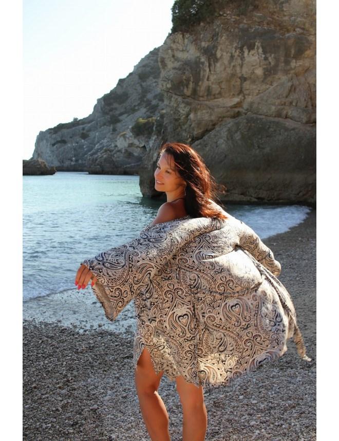 T-shirt Damski (TD1) klasyczny z kołnierzem typu U